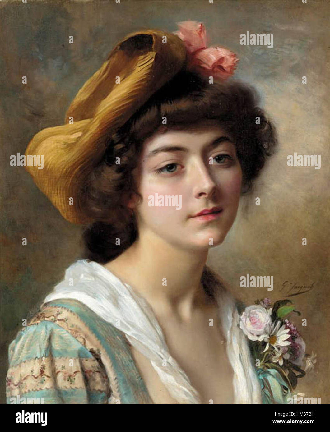 Gustave Jean Jacquet - 01 Stock Photo: 132837365 - Alamy