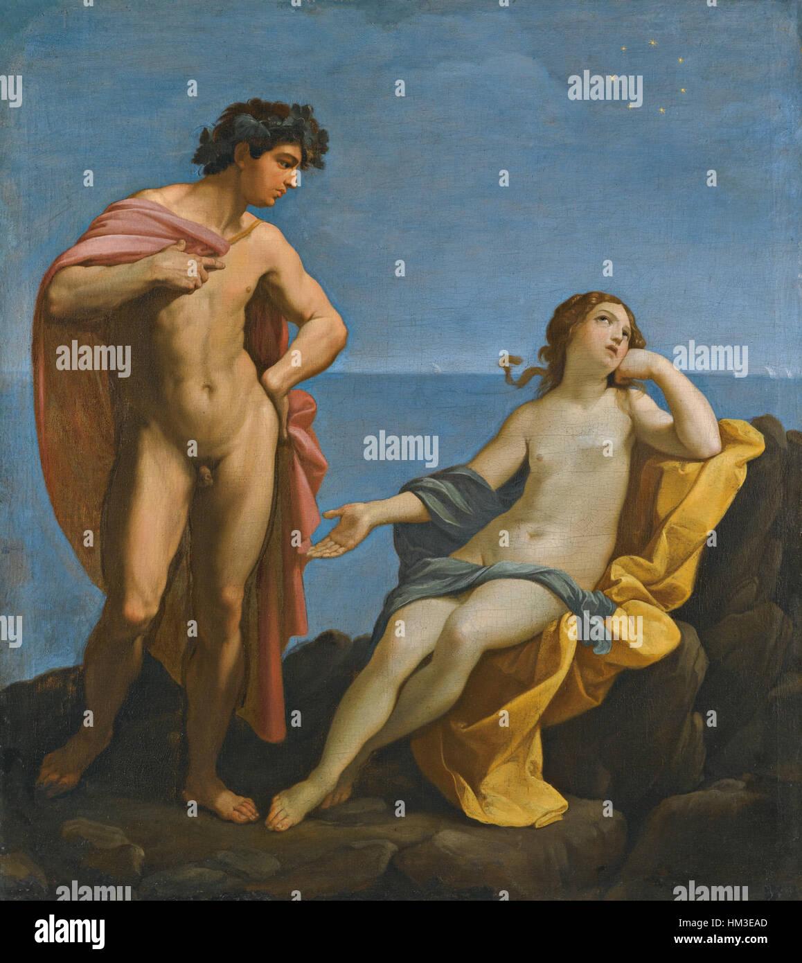 Guido Reni - Bacchus and Ariadne Stock Photo