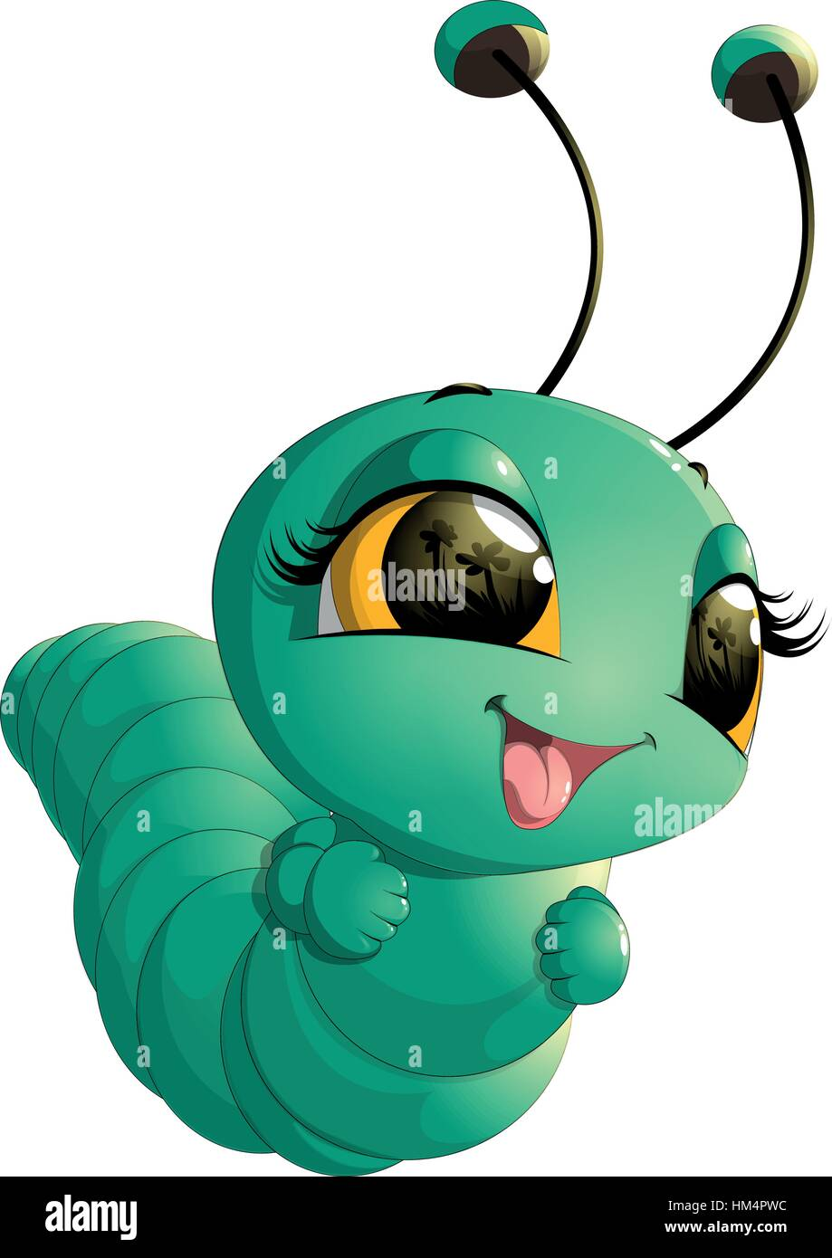 Cartoon Caterpillar High Resolution Stock Photography And Images