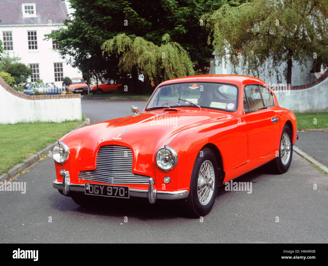 1953 Aston Martin DB2-4 - Stock Image