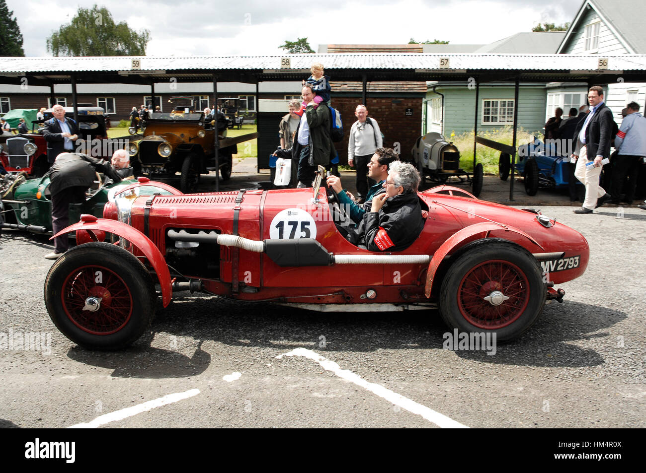 1932 Aston Martin LM10 at Brooklands 100 2007 - Stock Image