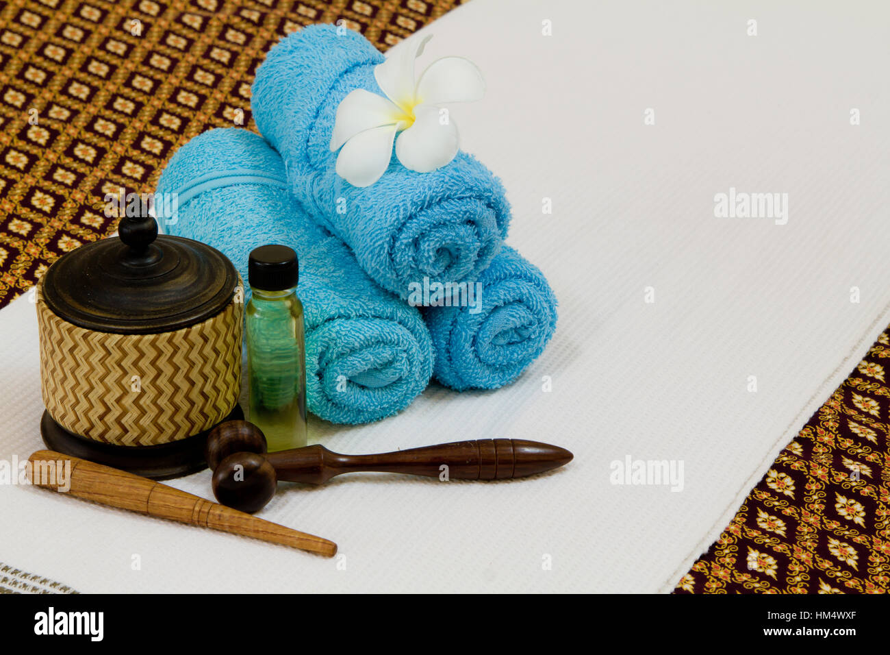 Health spa with white flower bottles with essential oil stock photo health spa with white flower bottles with essential oil mightylinksfo