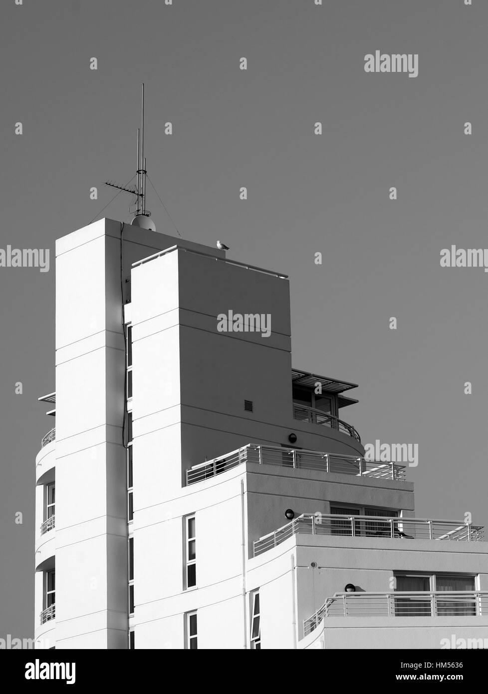 Architecture, docklands, London,UK - Stock Image