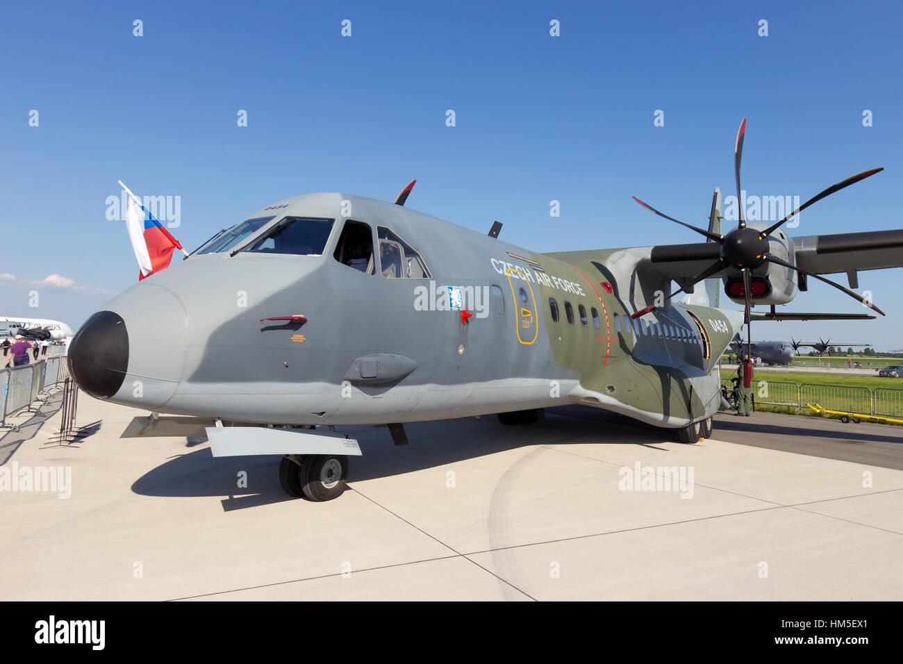 BERLIN, GERMANY MAY 22: Czech Air Force Casa C295M