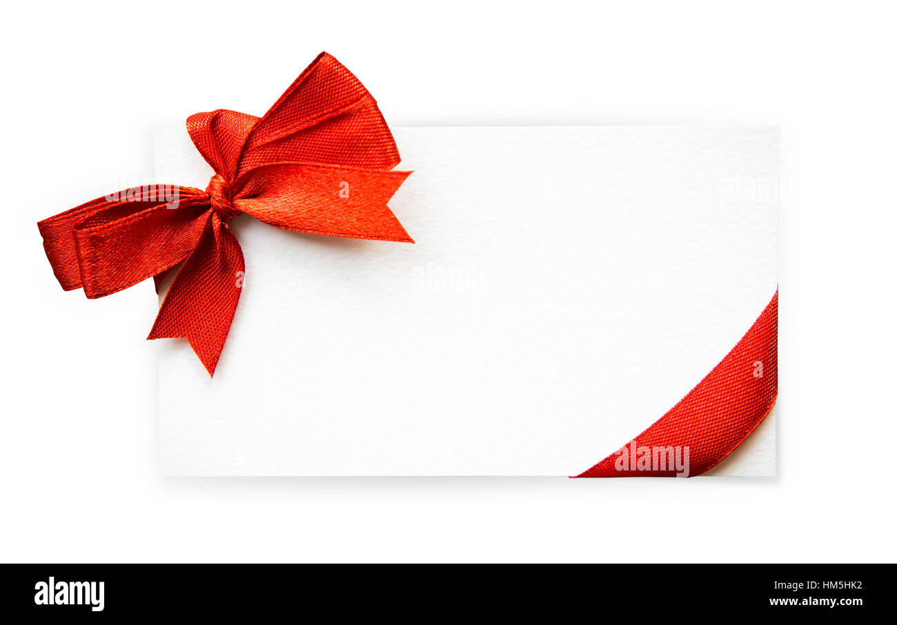 card red ribbons bows isolated stock photos card red ribbons bows