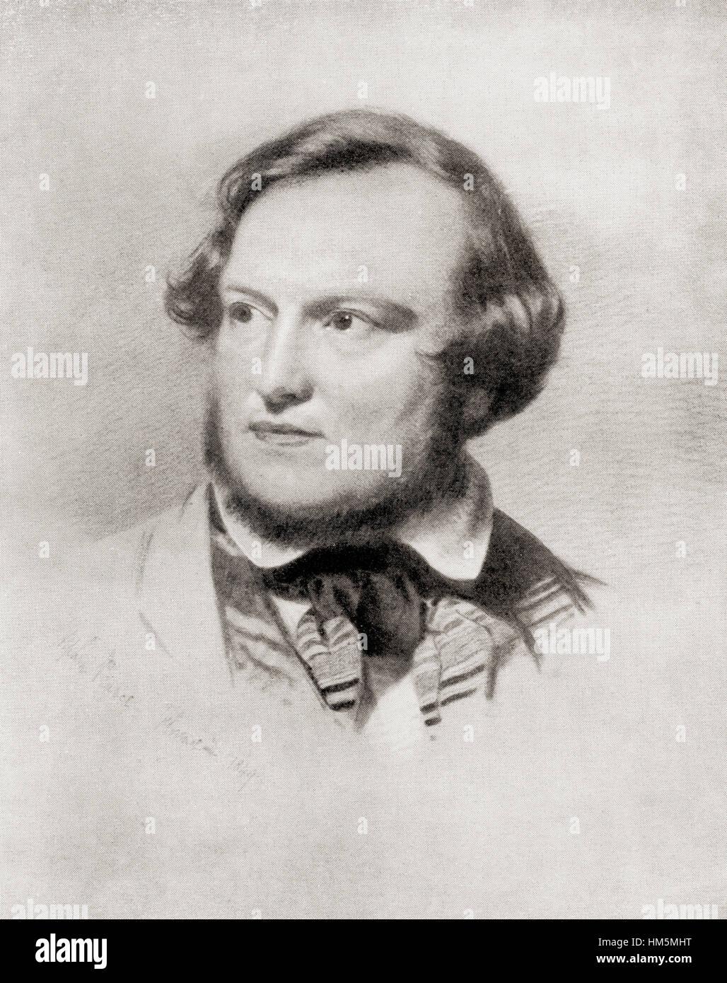Charles James Lever, 1806 – 1872.  Irish novelist and raconteur. - Stock Image