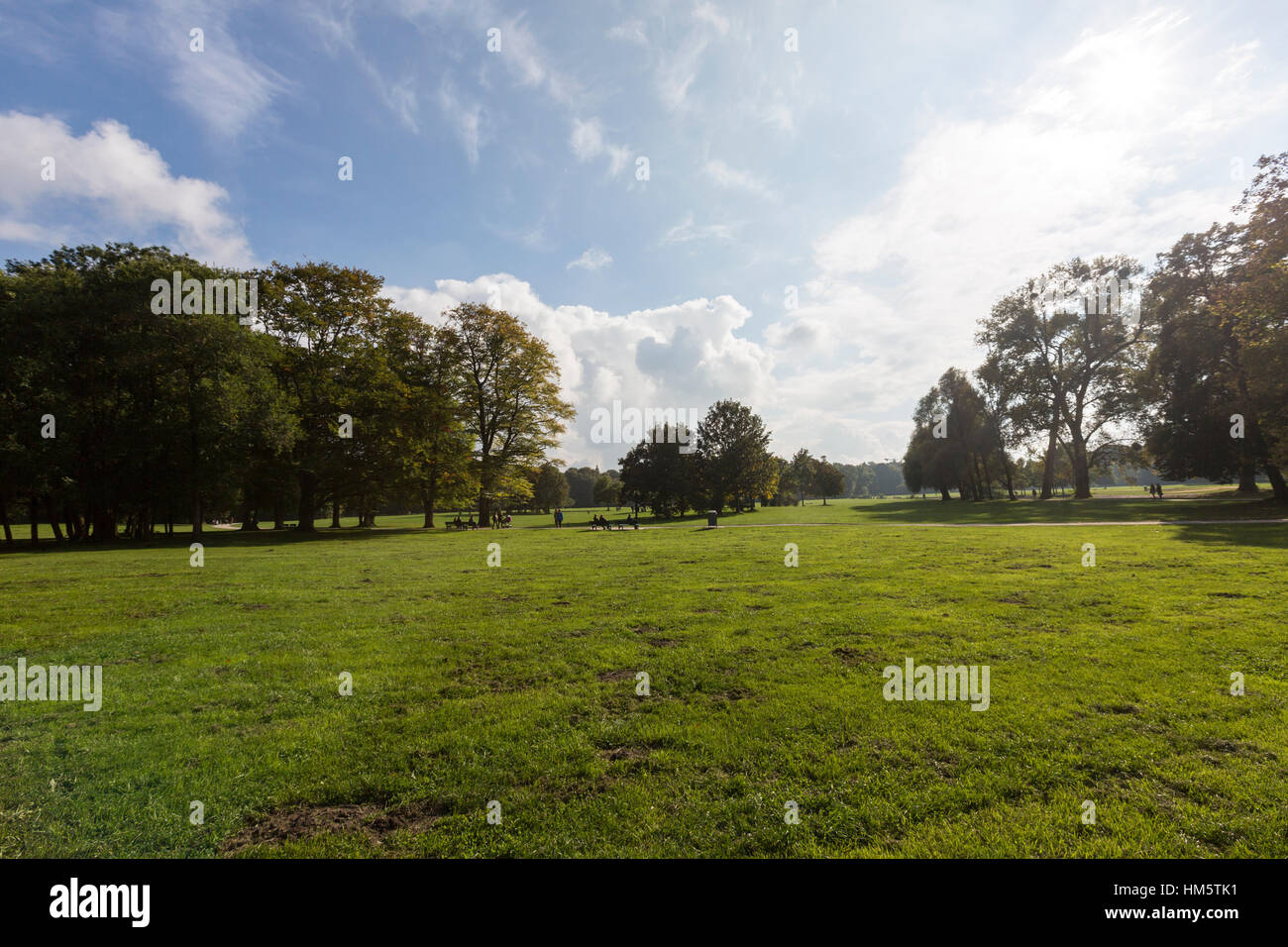 Englischer Garten, English Garden, Munich, Germany - Stock Image