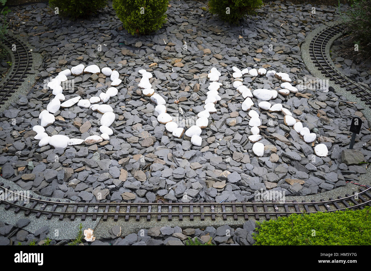 BVR are the initial letters of the Bure Valley Railway in Norfolk UK - Stock Image