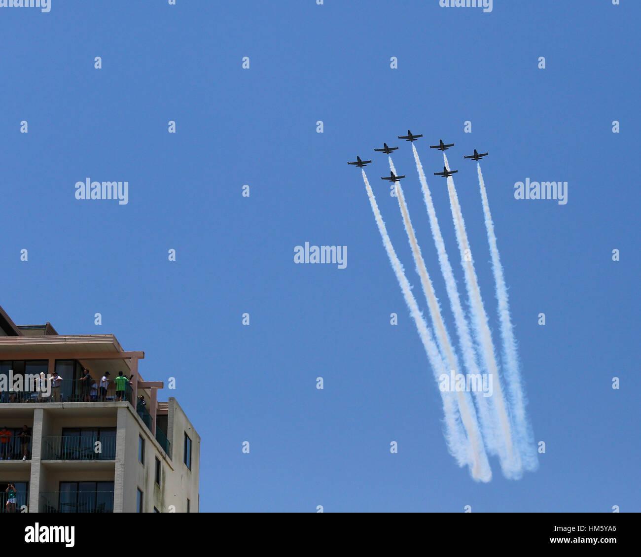 breitling jet team aero l 39 albatros jets stock photo 132896910