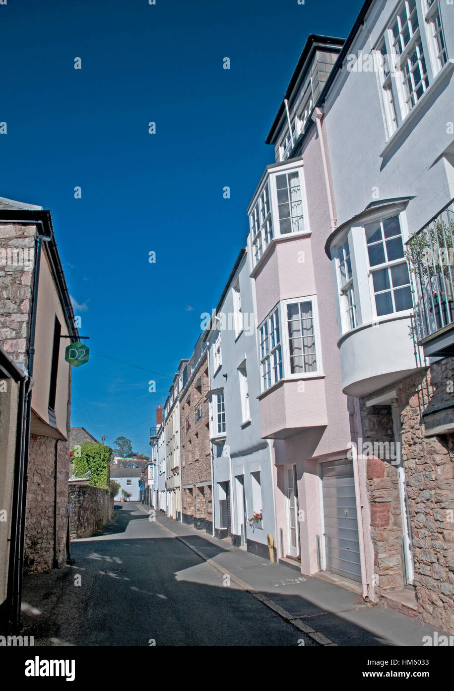Topsham in Devon - Stock Image