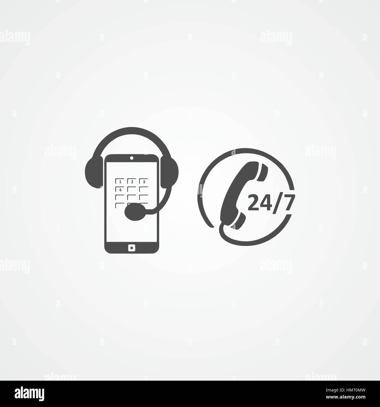 Customer service icon. Customer care. - Stock Vector