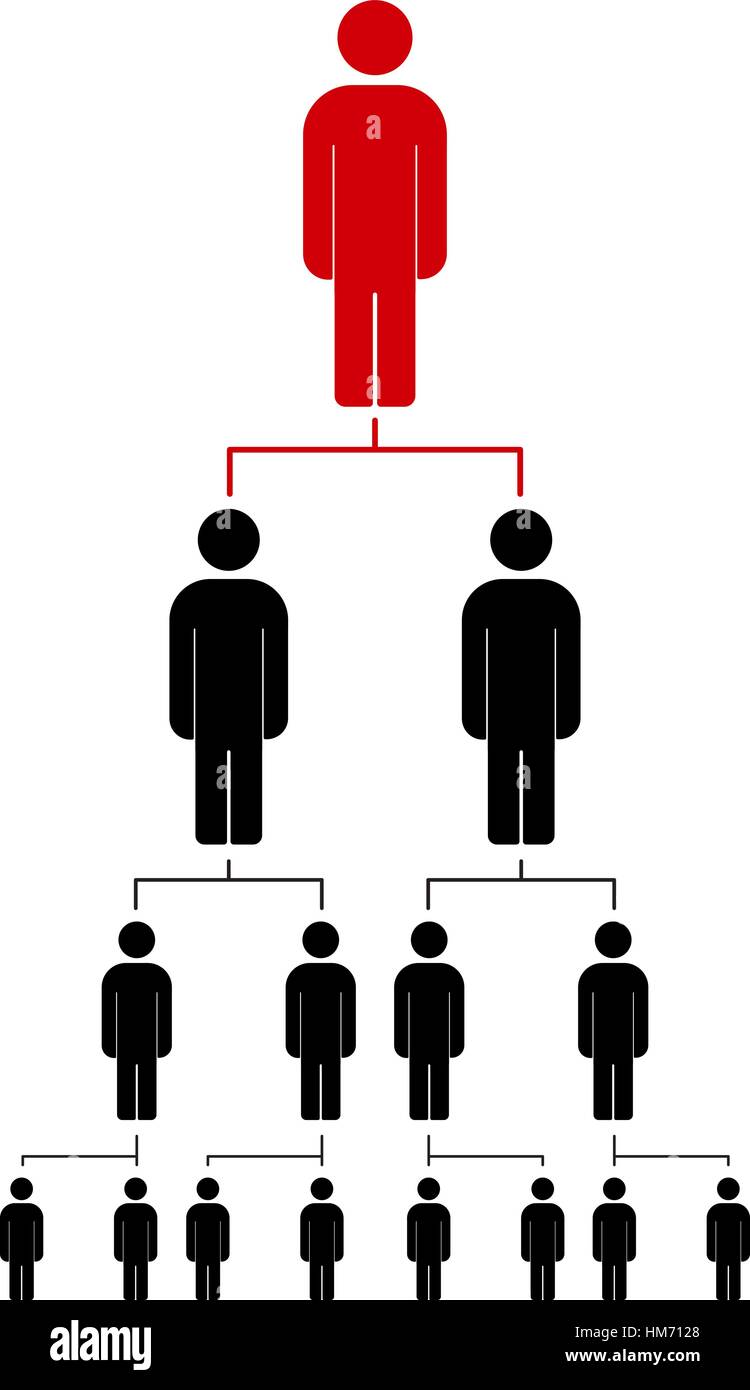 People icon vector illustration eps10 organization chart stock people icon vector illustration eps10 organization chart infographic hierarchy pyramid concept ccuart Image collections