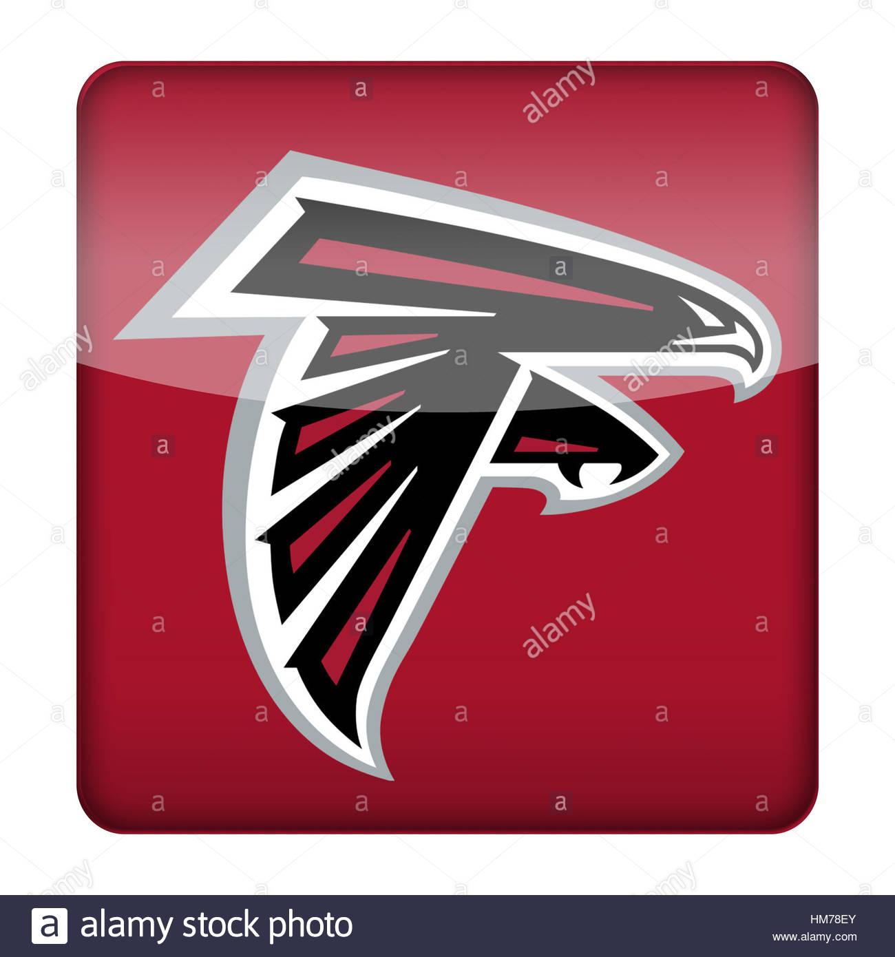 Atlanta Falcons Logo Icon Stock Photo 132926051 Alamy