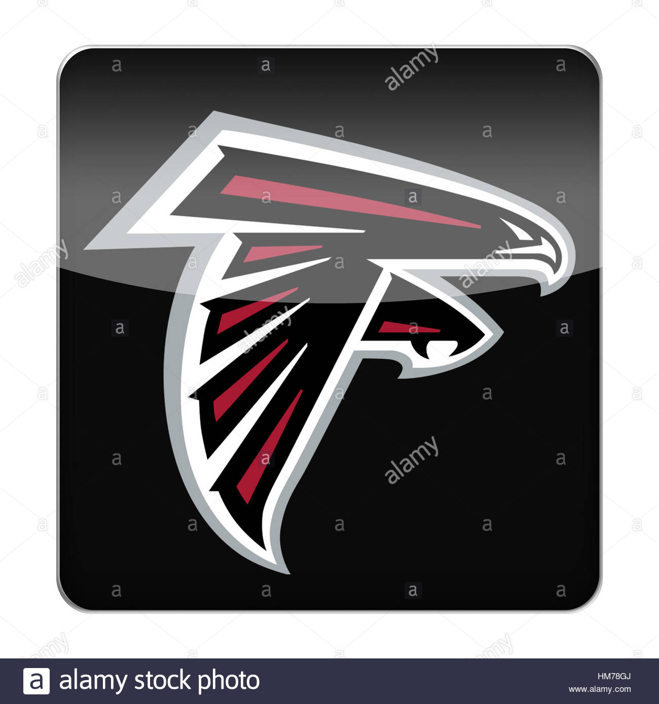Falcons Football Cut Out Stock Images Pictures Alamy