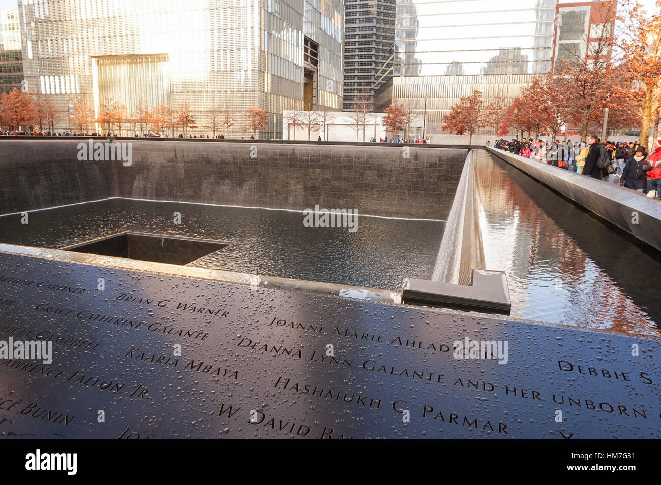 national september 11 memorial on the site of the twin towers of the world trade center - Christmas Bombings