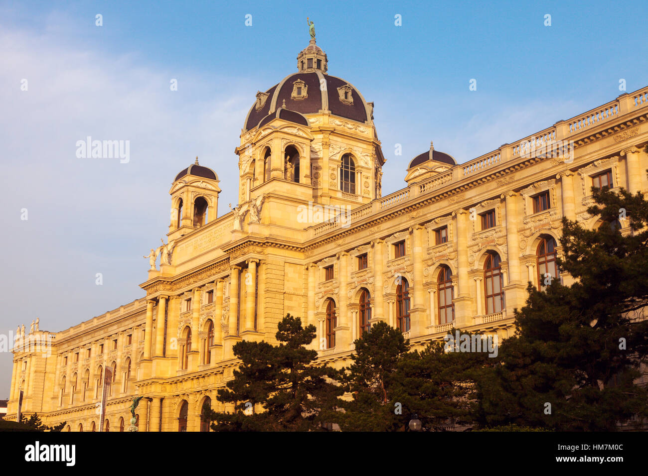 Austria, Vienna, Museum of Natural History on Maria Theresa Square - Stock Image
