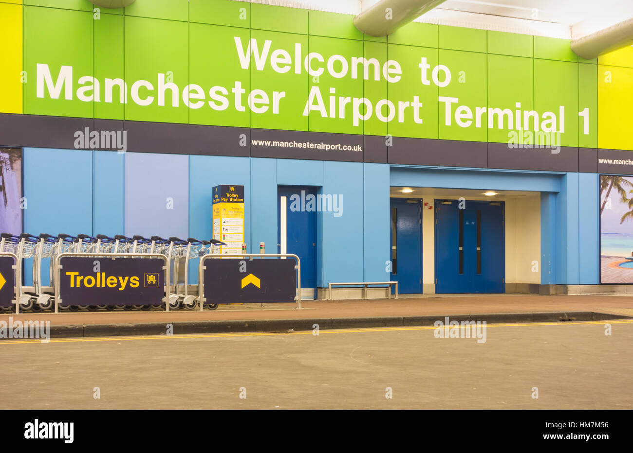 Terminal 1 Meet And Greet Manchester Gallery Greetings Card Design