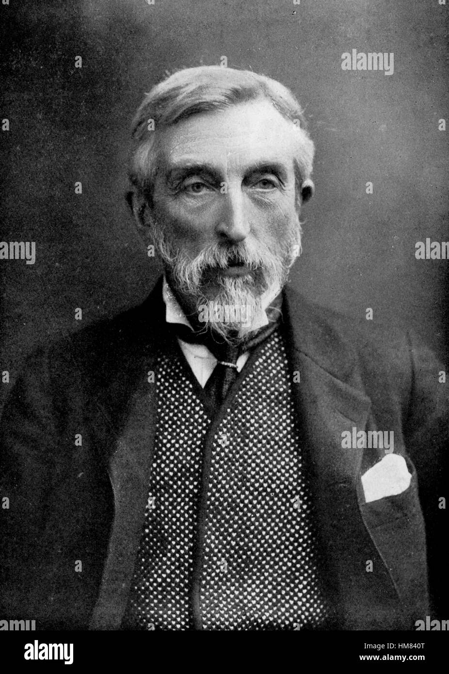 CHARLES BOOTH (1840-1916) English social reformer Stock Photo