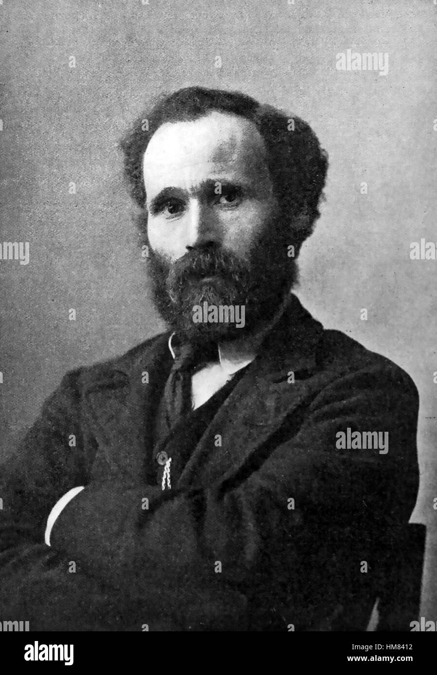 KEIR HARDIE (1856-1915) Scottish socialist and first Labour MP about 1890 - Stock Image