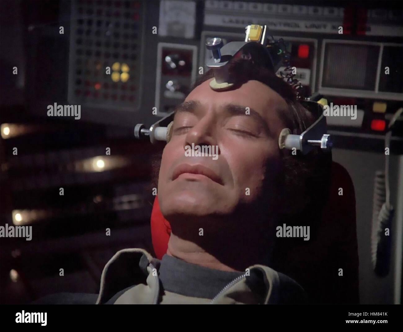 SPACE 1999 ITC/ATV  TV series 1975-1977  with Martin Landau - Stock Image
