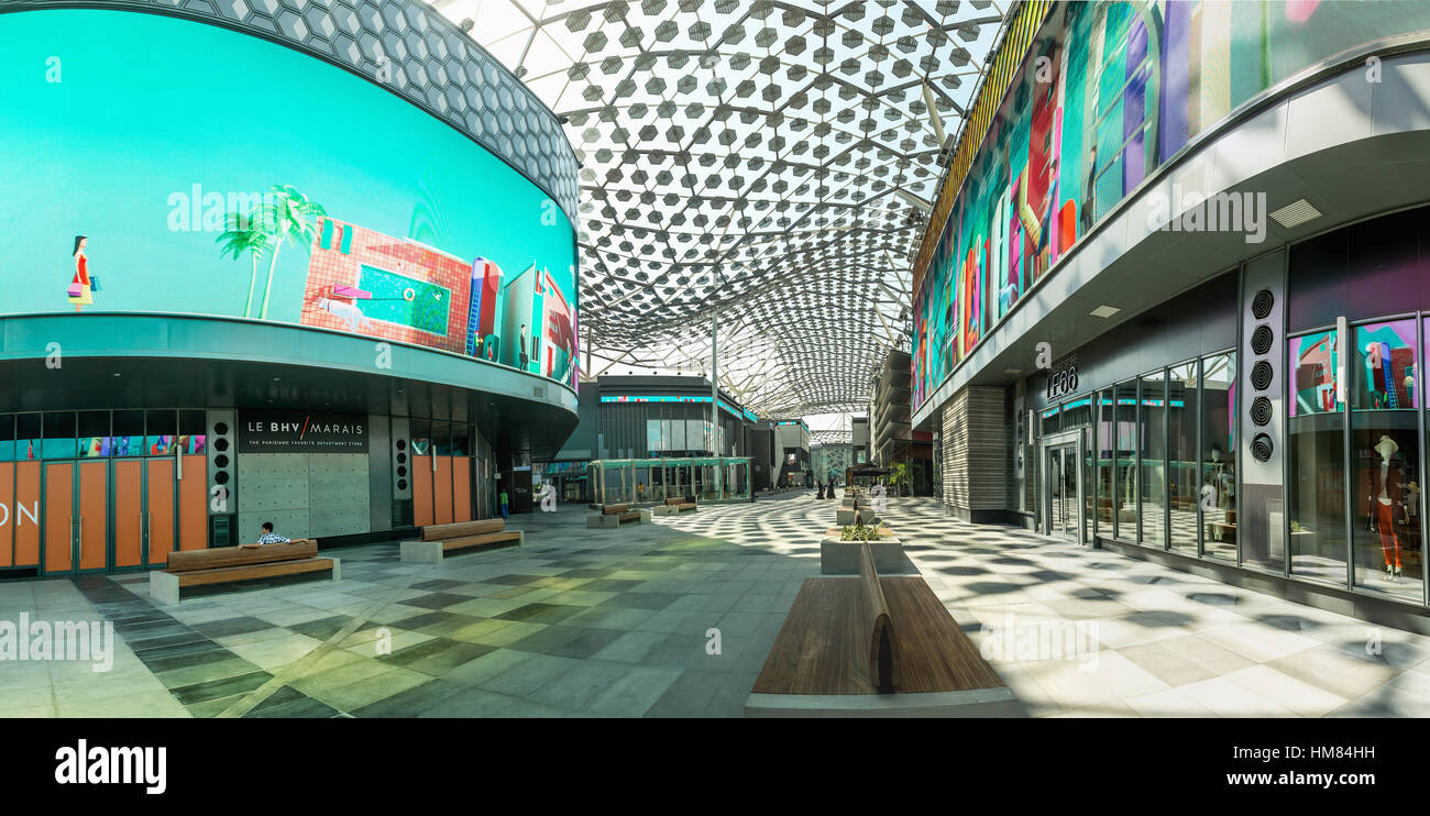 Dubai November 08 2016 Lumas Dubai City Walk New