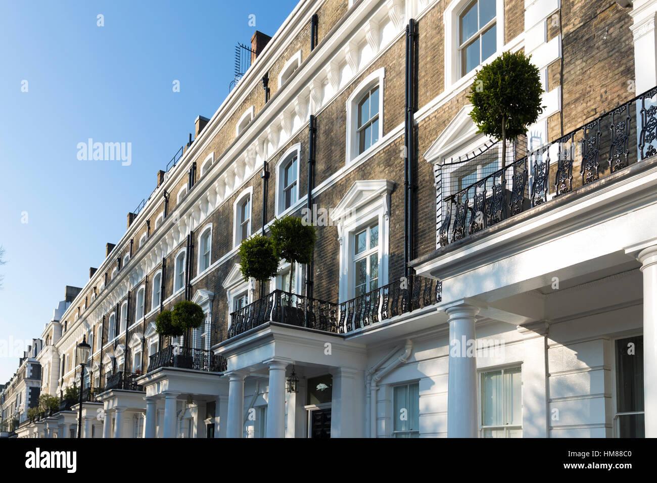London Property in South kensington UK Stock Photo