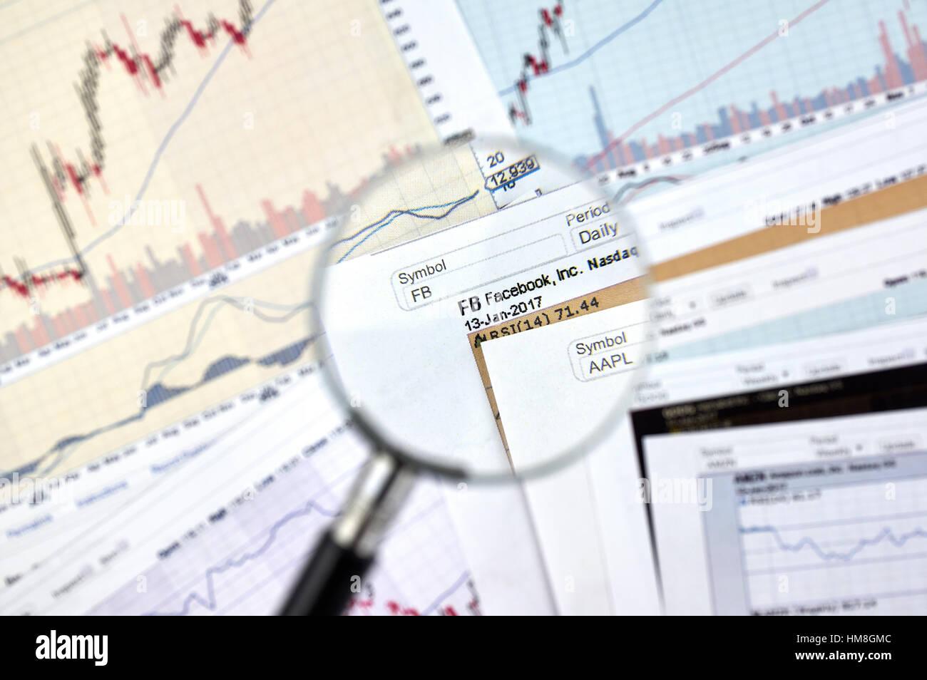 Nasdaq Facebook Stock Photos Nasdaq Facebook Stock Images Alamy