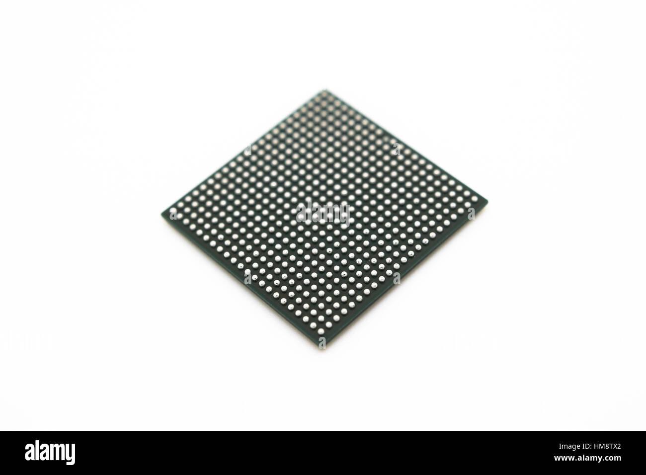 BGA package type integrated circuit Stock Photo: 132960858 - Alamy