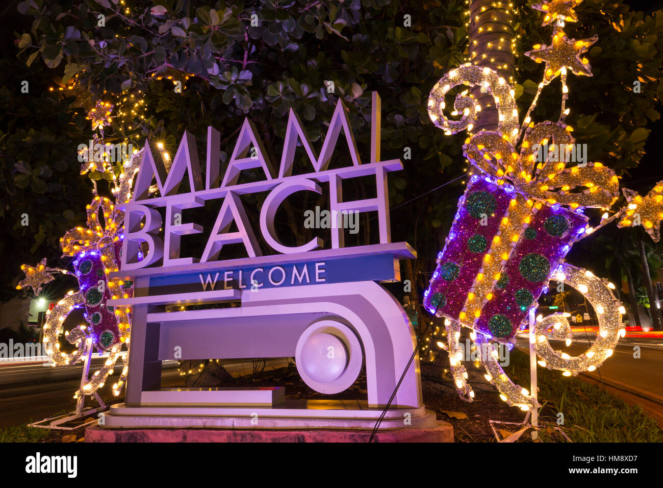 Christmas Lights In Miami