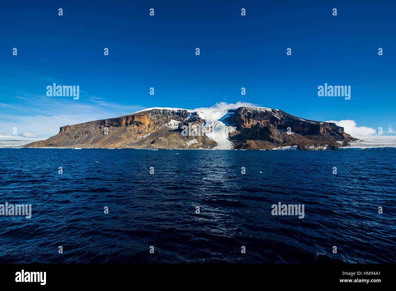 Brown Bluff, Tabarin Peninsula, Antarctica, Polar Regions - Stock Image