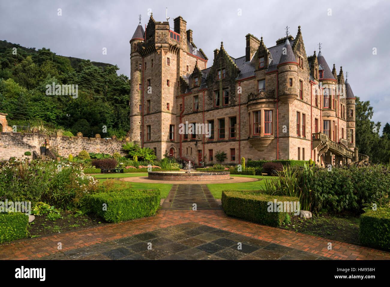Belfast Castle, Belfast, Ulster, Northern Ireland, United Kingdom - Stock Image