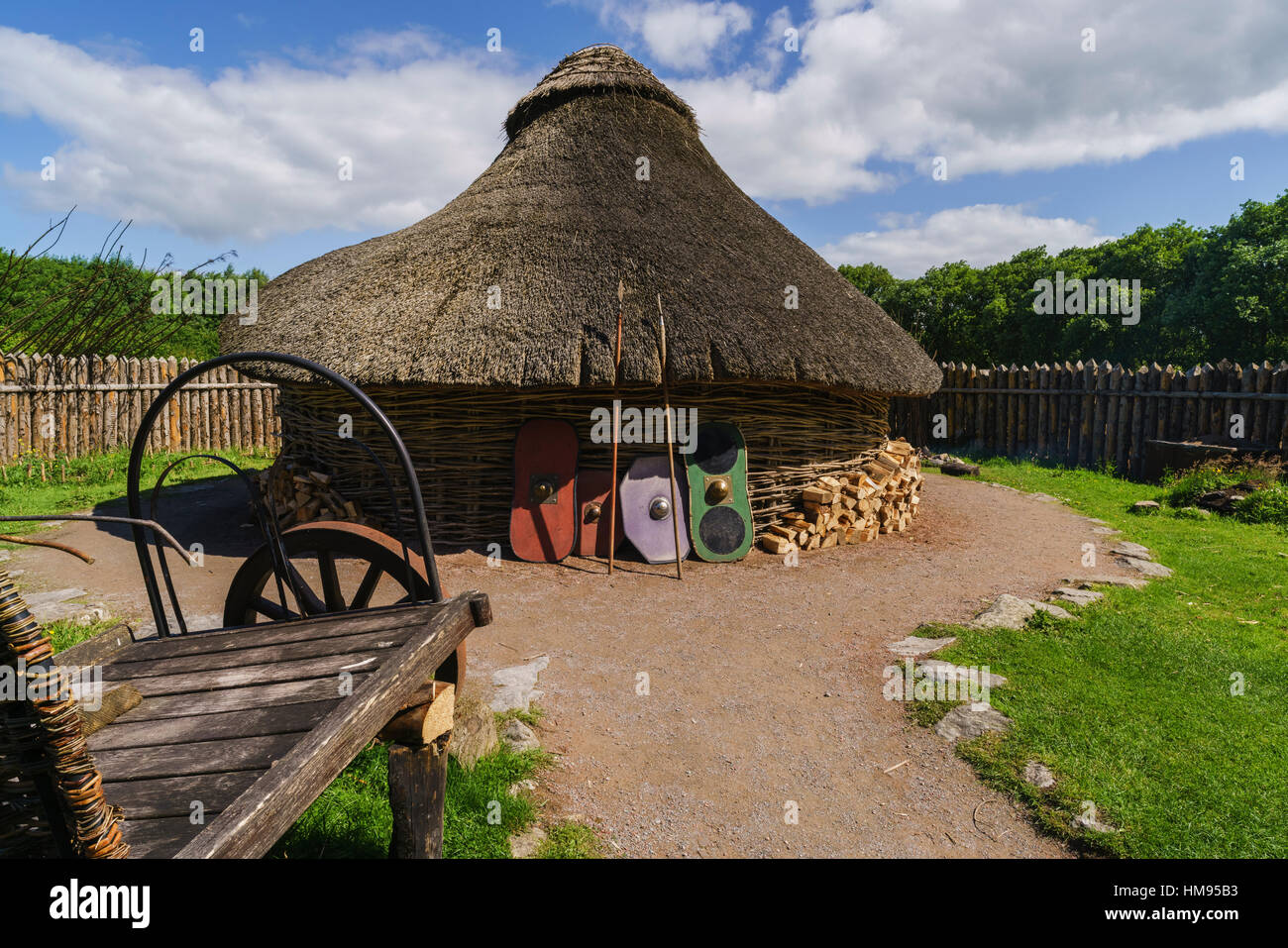 Navan Center, County Armagh, Ulster, Northern Ireland, United Kingdom - Stock Image