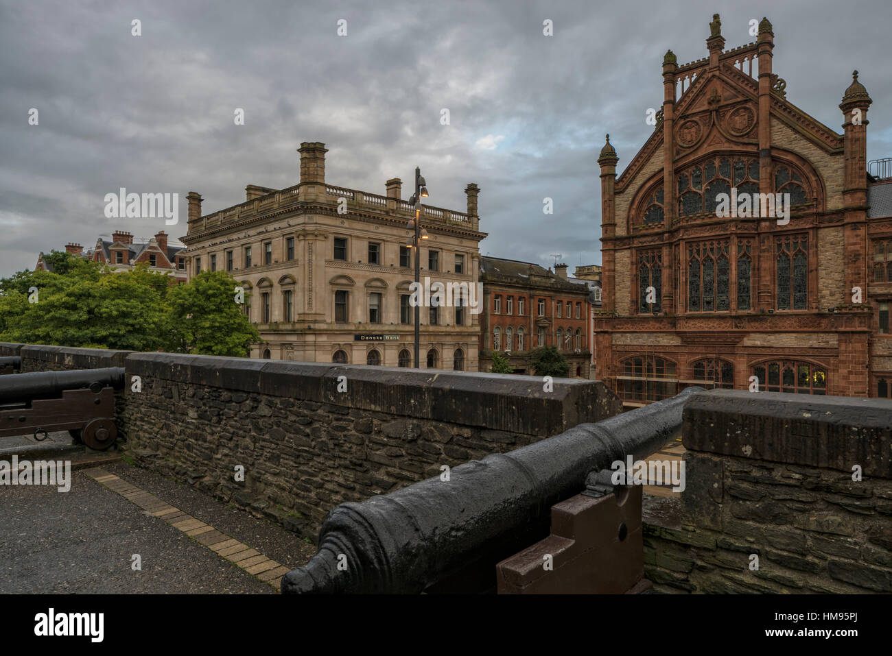 Londonderry (Derry), County Down, Ulster, Northern Ireland, United Kingdom - Stock Image