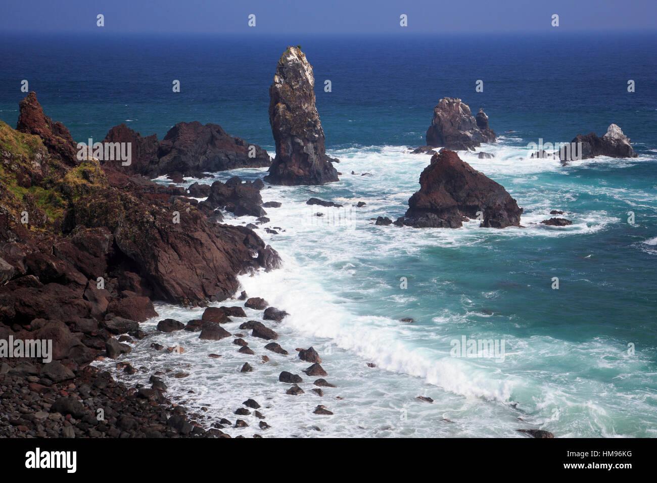 Seopjikoji Cape, Jeju Island, South Korea Stock Photo