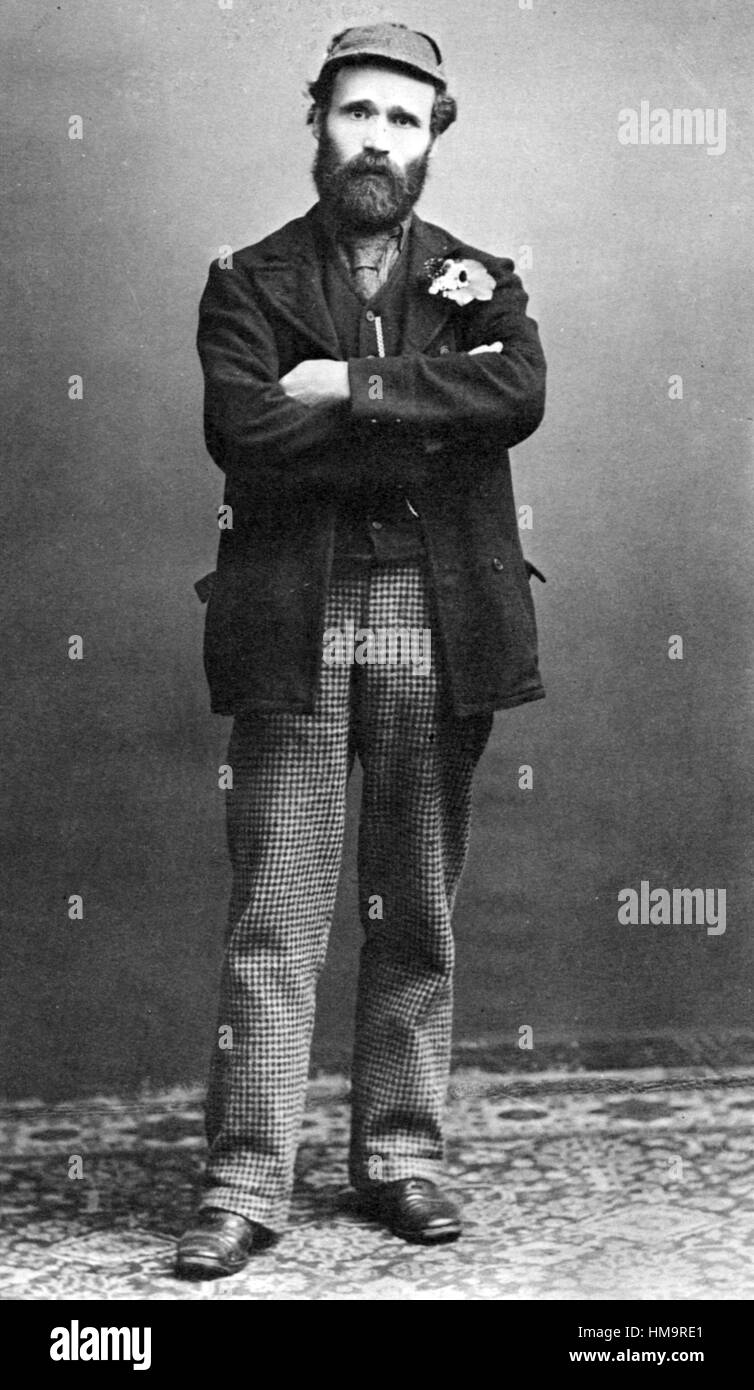 KEIR HARDIE (1856-1915) Scottish socialist and first Labour MP about 1892 - Stock Image