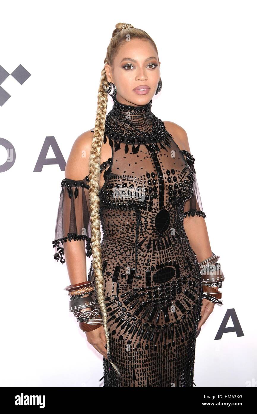 New York, NY, USA. 15th Oct, 2017. Beyonce attends TIDAL's Second Annual Philanthropic Festival, TIDAL X: 1015 - Stock Image