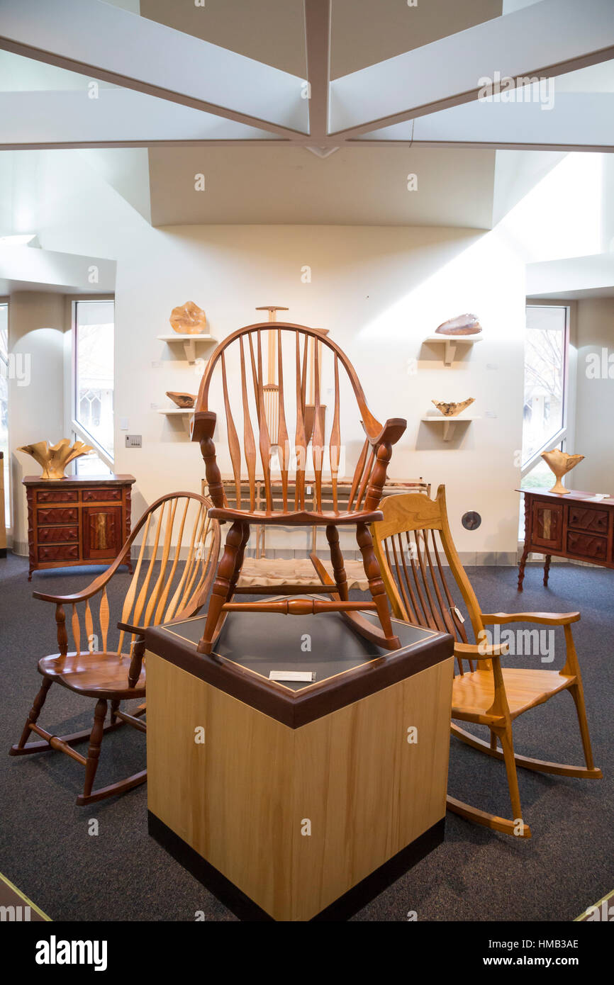Beckley, West Virginia - Tamarack: A West Virginia artisan retail center. The center also has artist studios and - Stock Image