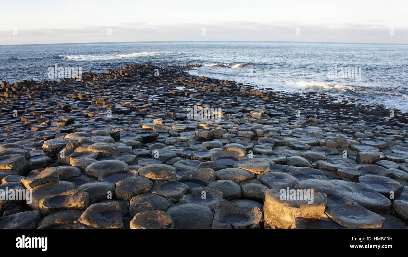 Giant's Causeway - Stock Image