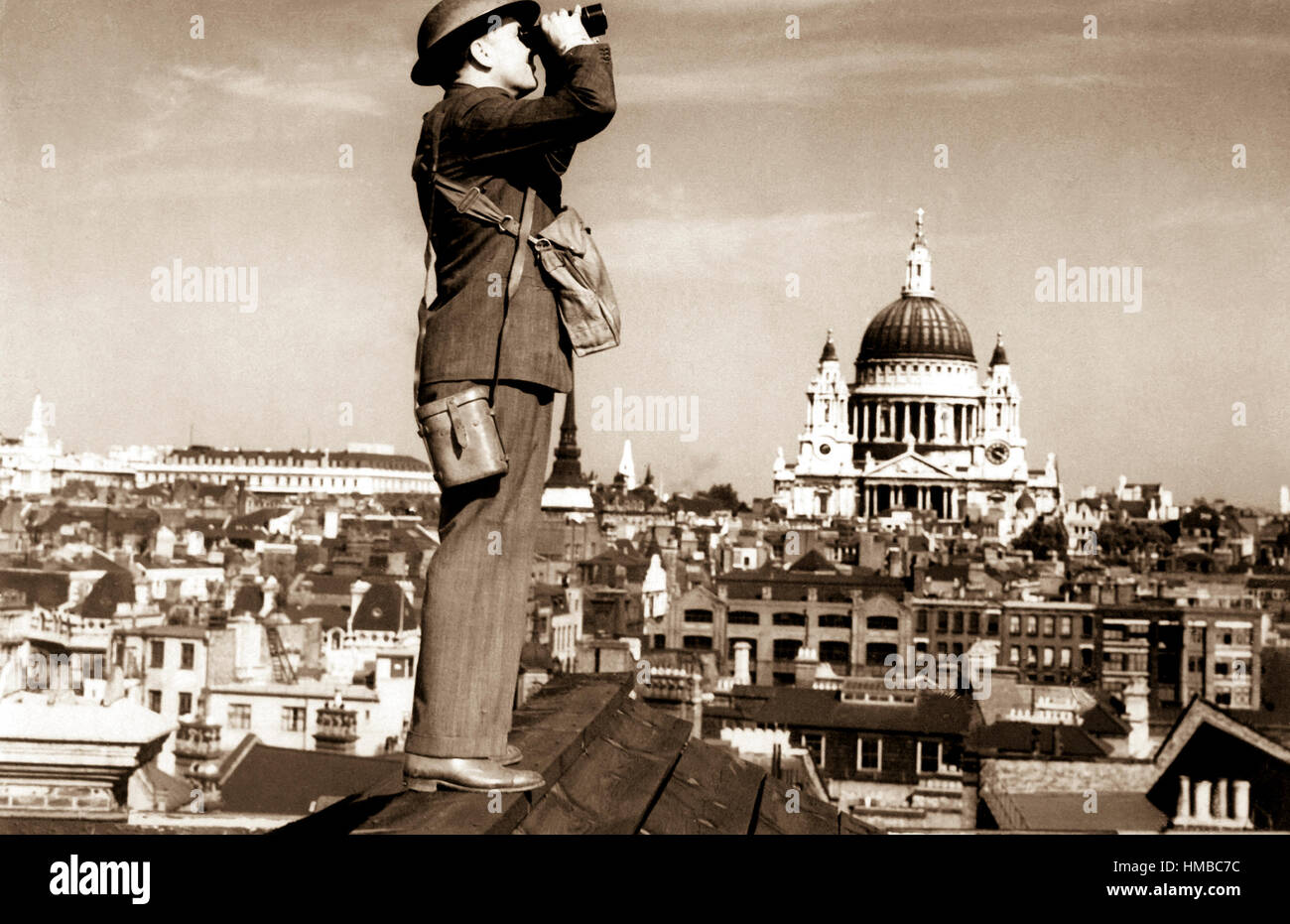 Ww2 Air Raid Warden High Resolution Stock Photography and Images - Alamy