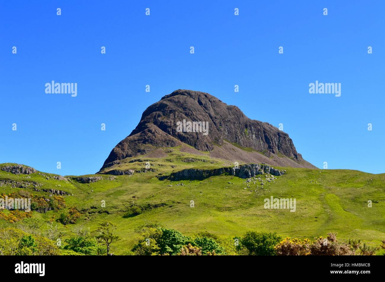 Preshal More, Minginish, Isle of Skye - Stock Image