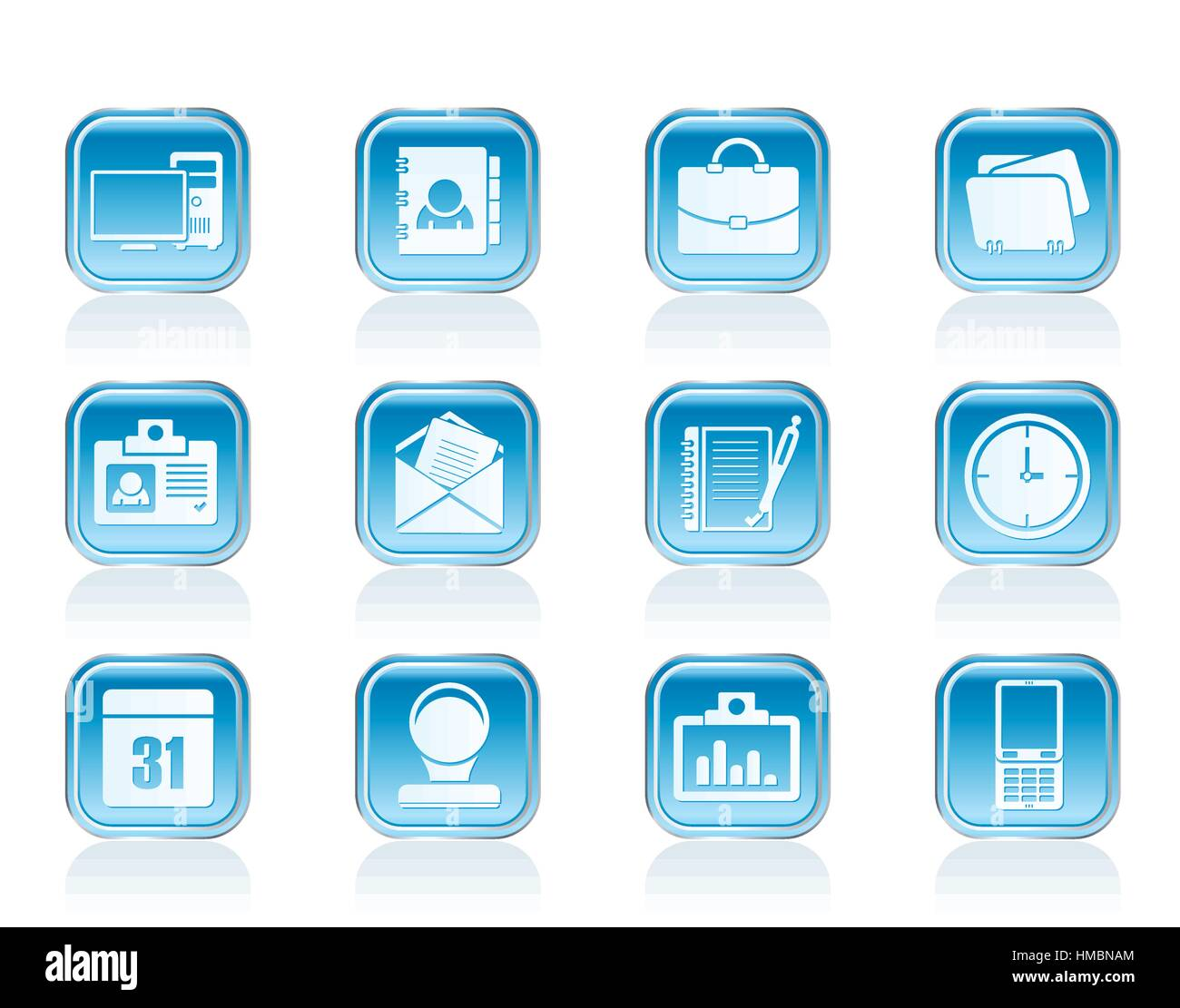 Web Applications,Business and Office icons, Universal icons Stock Vector