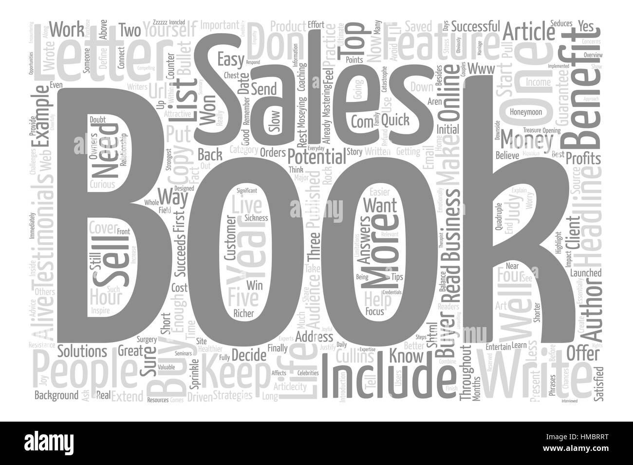 Extend Your Book S Life With A Sales Letter Text Background Word