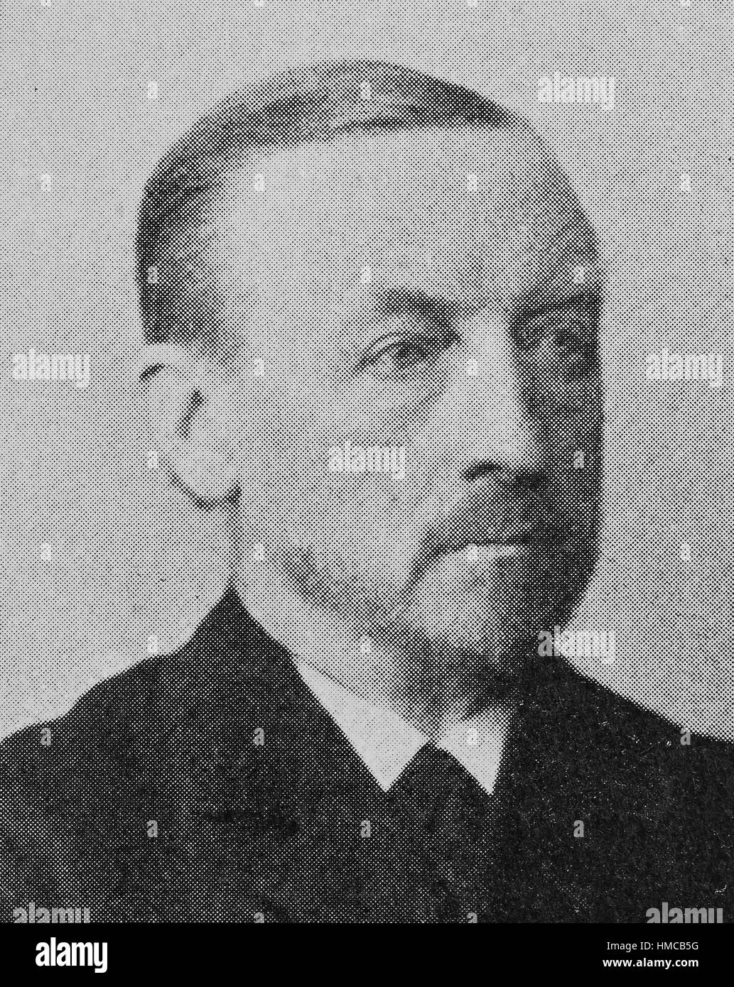 Alexander Christian Leopold Conze, 10 December 1831 - 19 July 1914, was a German archaeologist, who specialized - Stock Image