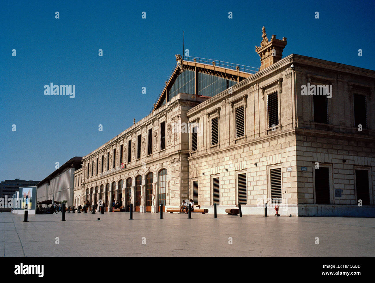 Gare de marseille stock photos gare de marseille stock images alamy - Distance gare saint charles port marseille ...