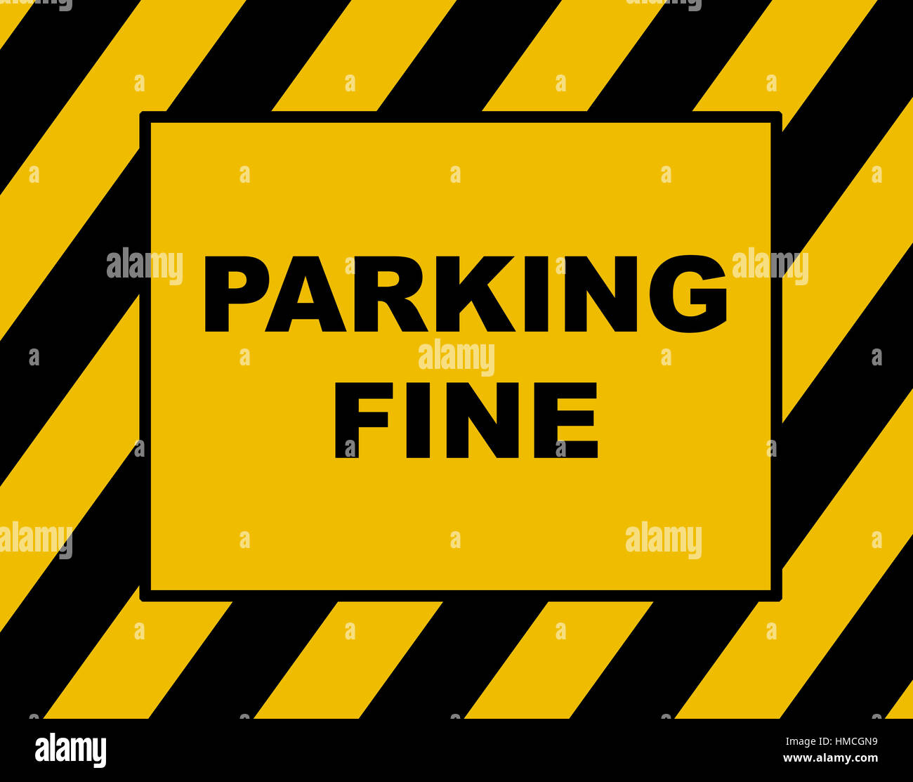 parking fine notice parking violation stock photo 133042261 alamy