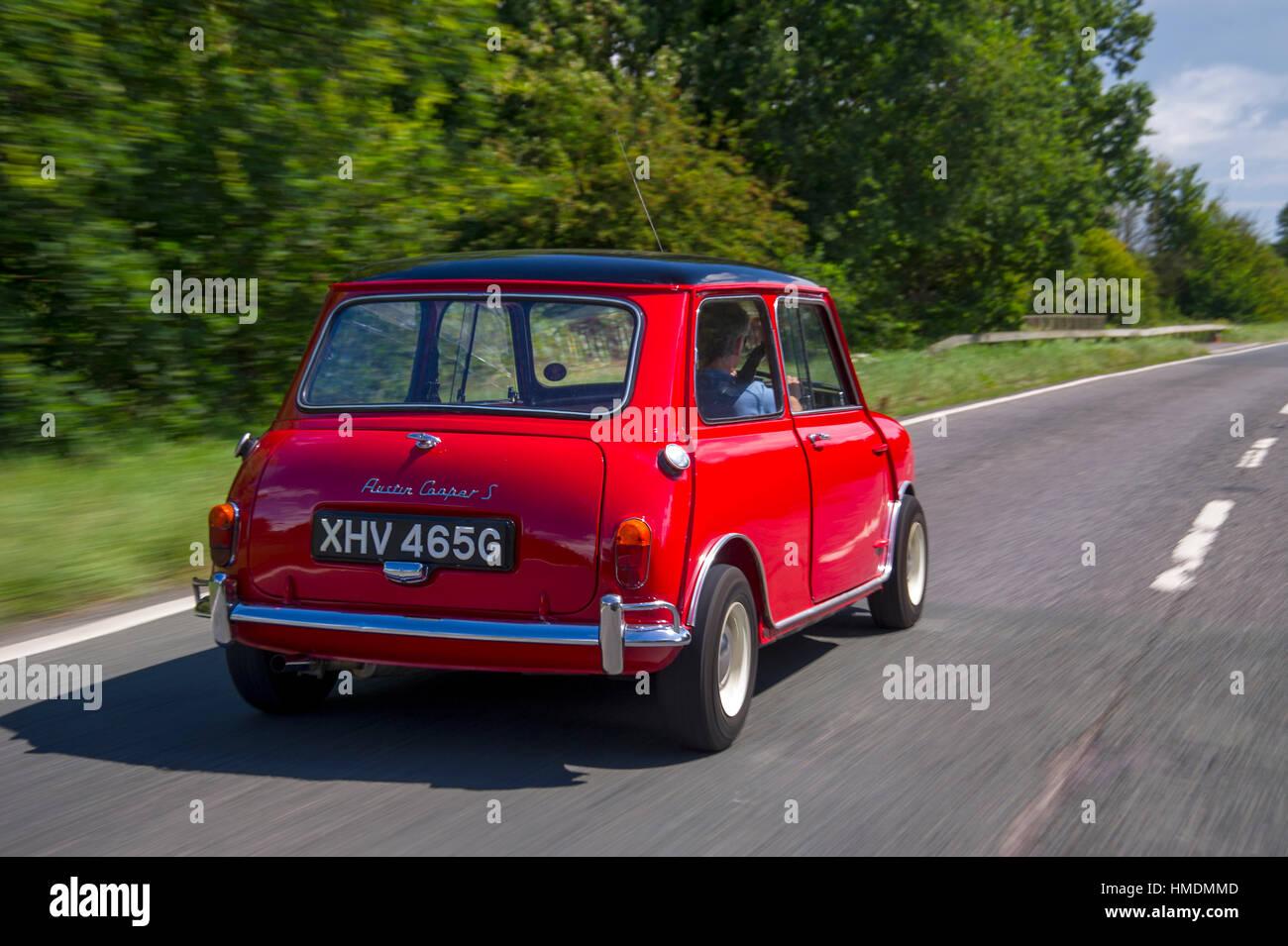 1968 Mini Cooper S Classic Compact British Sports Car Stock Photo