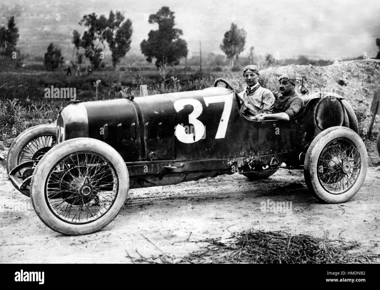 1921 Ballot 3 litre - Stock Image
