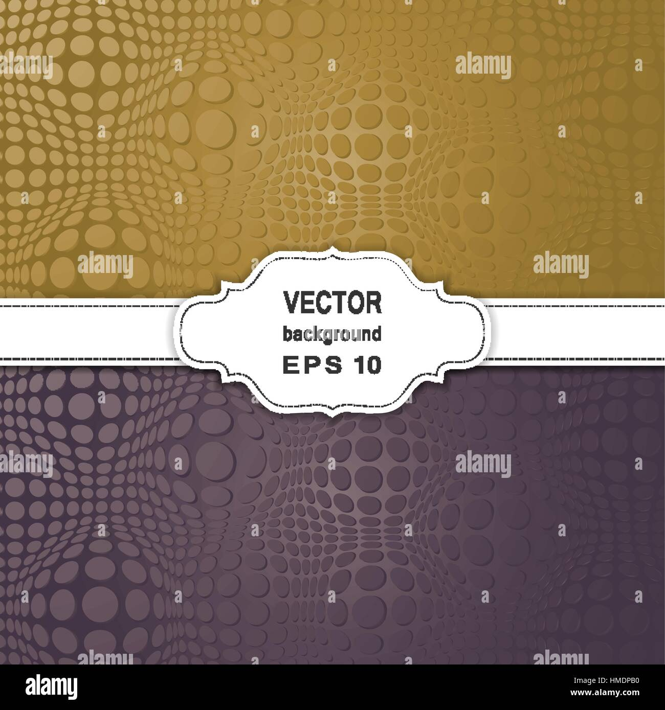 Set of Abstract Halftone Backgrounds. - Stock Image
