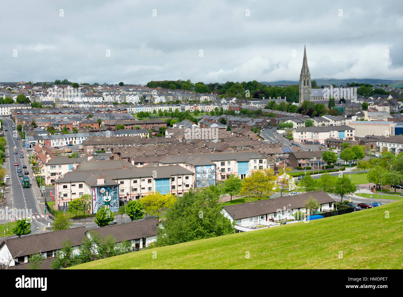 Visit Londonderry (or Derry) in Northern Ireland, United