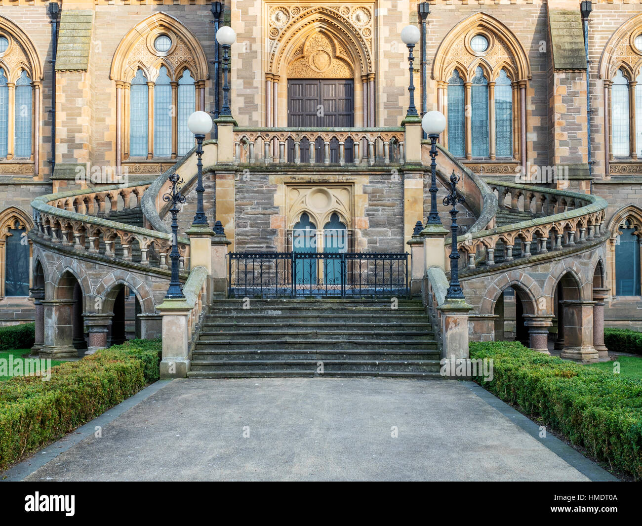 McManus Art Gallery and Museum in Dundee Scotland - Stock Image
